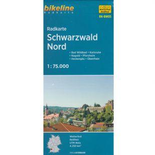 Schwarzwald Nord Radkarte - RK-BW05