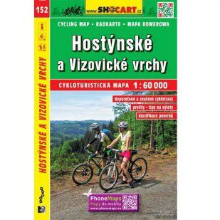 A - Shocart nr. 152 - Hostýnské a Vizovické vrchy