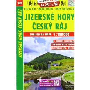 Shocart nr. 203 - Jizerske Hory, Cesky Raj