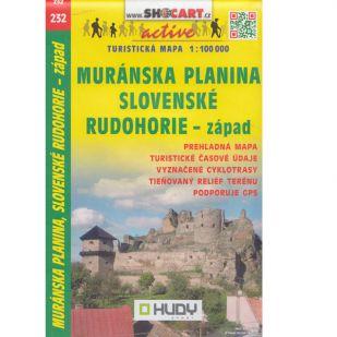 A - Shocart nr. 232 - Muranska Planina, Slovenske Rudohorie - zapad