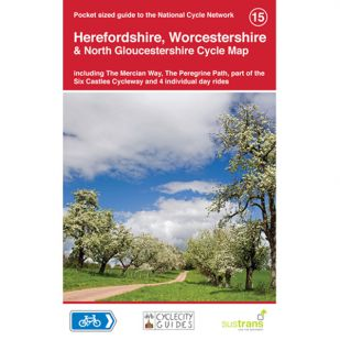 15. Herefordshire, Worcestershire & North Gloucestershire Cycle Map