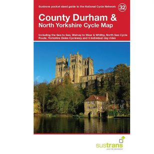 32. County Durham & North Yorkshire cycle Map