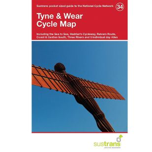 34. Tyne and Wear Cycle Map