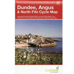 44.  Dundee, Angus & North Fife Cycle Map