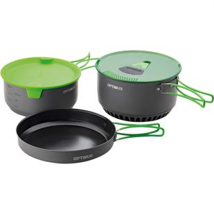 Terra Camp 4 Cooking Pot Set