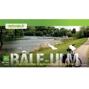 Rijn en Donau fietsroute - Van Bazel naar Ulm - 407 km
