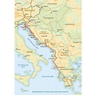 Fietsgids Balkan Kust route !