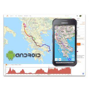 Cursus Smartphone als GPS (Android) - Gevorderden