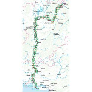 Via Rhona - Bikeline fietsgids