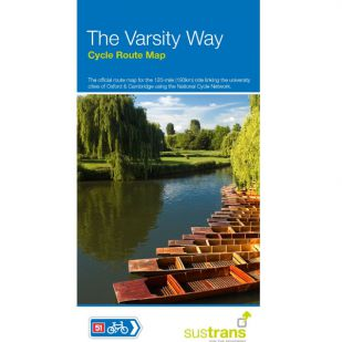 Sustrans Map The Varsity Way (Oxford to Cambridge)