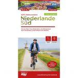 Niederlande Sud Radtourenkarte