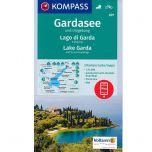 KP697 Gardasee und Umgebung - 3 kaarten