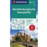 KP865 Mecklenburgische Seenplatte - 3 kaartenset
