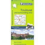 Michelin 129 Toulouse en omgeving