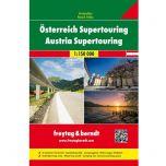 F&B Oostenrijk Supertouring Road Atlas 1:150.000