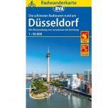 Düsseldorf Radwanderkarte