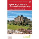 37. Ayrshire, Lanark & The Isle of Arran Cycle Map