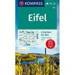 KP833 Eifel - 4 kaartenset !