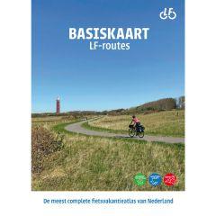 Basiskaart netwerk LF-routes (22 topo kaarten) - Druk 2021/2022