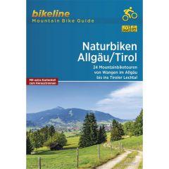 Naturbiken Allgäu/Tirol Bikeline Mountainbike Guide