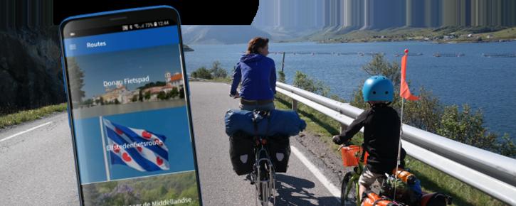 Fietsvakantiewinkel Route-App